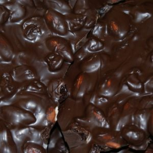 Dark Chocolate Cherry Almond Bark – 16oz