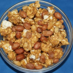 Caramel Corn with Spanish Peanuts – 8oz