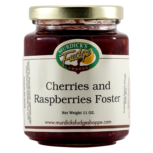 Cherries and Raspberries Foster